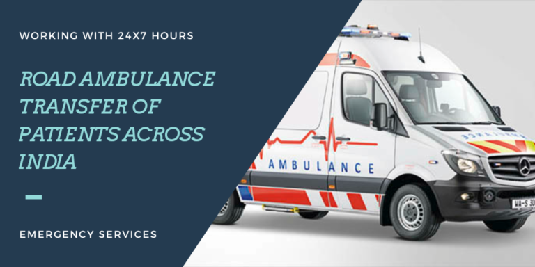 Ambulance Service in Delhi-NCR